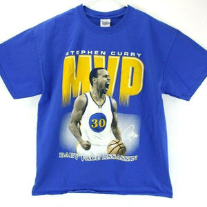 Stephen Curry MVP Baby Face Assassin Graphic Tee
